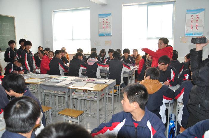 我校教师到任县四中做课图片